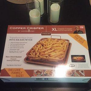 Copper Crisper XL Air Fryer Pan